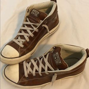 Men's All Star Leather Converse-Size 10